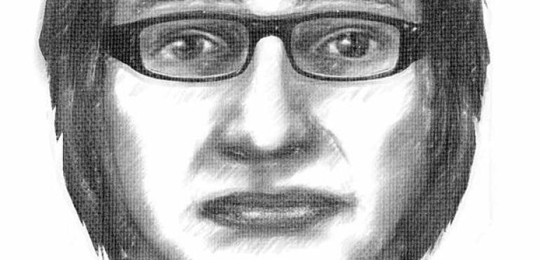 Podejrzany mężczyzna w szkole
