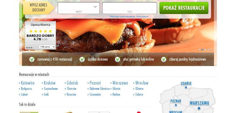 Zamów jedzenie z Pyszne.pl!