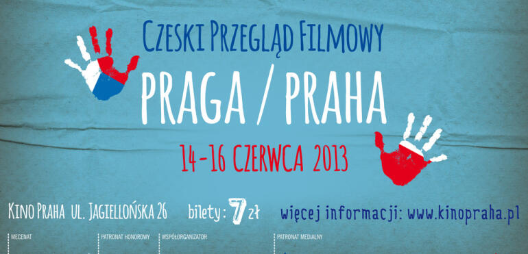 Czeski Przegląd Filmowy w Kinie Praha