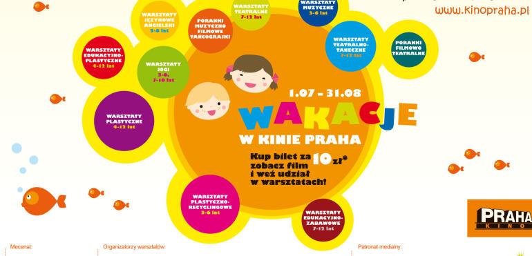 Wakacyjne atrakcje dla dzieci w Kinie Praha!