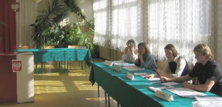 Praca w Komisji Wyborczej