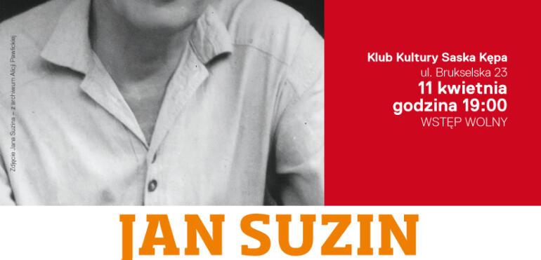 """JAN SUZIN - gentleman srebrnego ekranu"""" - spotkanie z cyklu """"Śladami mistrzów..."""""""