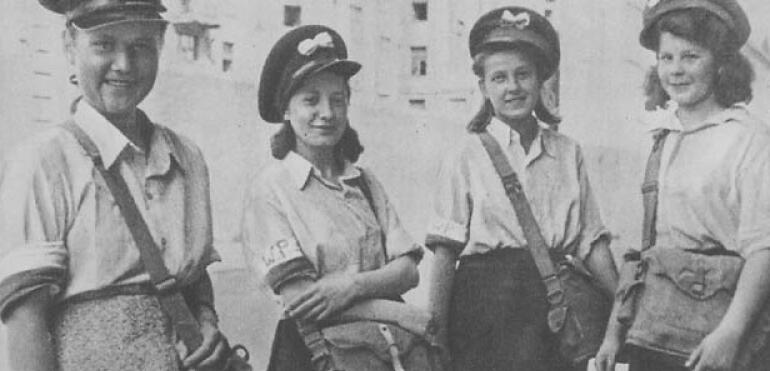 Trzynastoletnia bohaterka Powstania Warszawskiego
