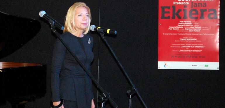 Wywiad z kierowniczką Klubu Kultury Saska Kępa