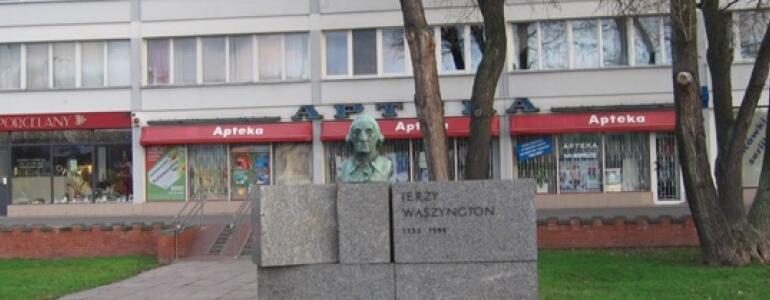 """fot.:<a href=""""http://commons.wikimedia.org/wiki/File:Pomnik_Jerzego_Waszyngtona_w_Warszawie_1.jpg"""" target=""""_blank"""">wikimedia.org</a>"""