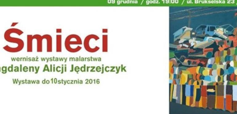 """Wystawa """"Śmieci"""" w PROMIE Kultury Saska Kępa"""