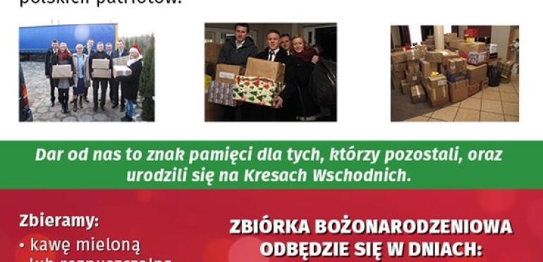 Świąteczna Zbiórka Paczek dla żołnierzy AK w IV LO im. Adama Mickiewicza