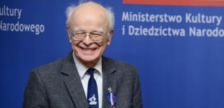 Srebrny medal Gloria Artis dla Pana Tadeusza Burchackiego z Saskiej Kępy!