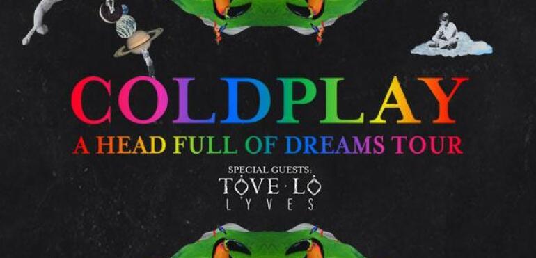 Coldplay na Narodowym i utrudnienia