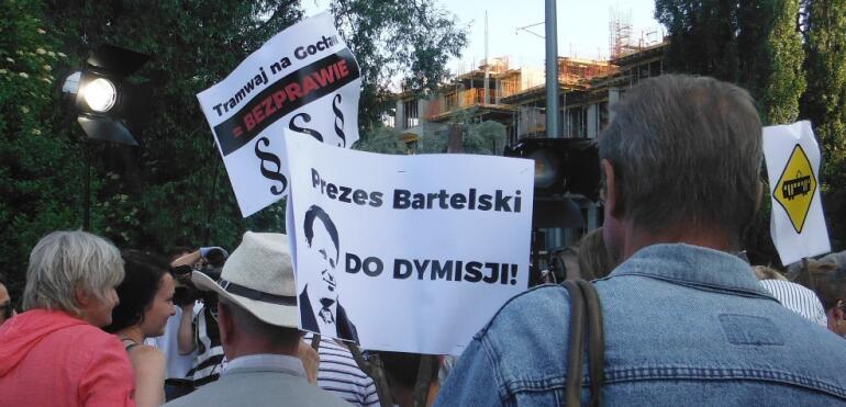 Tramwaj na Gocław a reprywatyzacja. Co ukrywa Ratusz?
