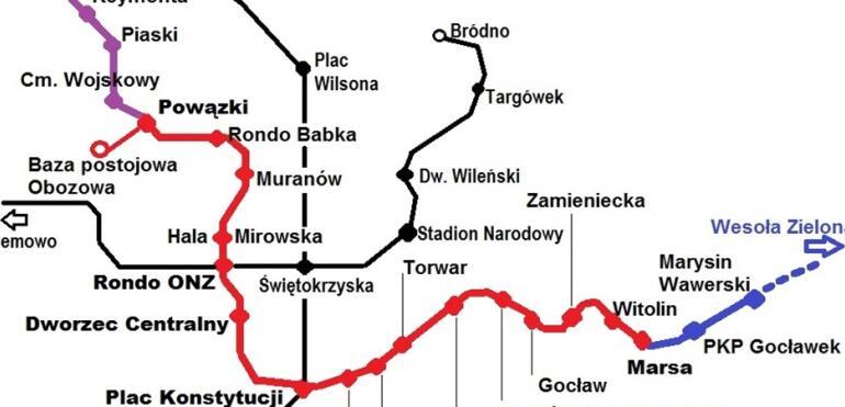 Pomysł na nową trasę trzeciej linii metra