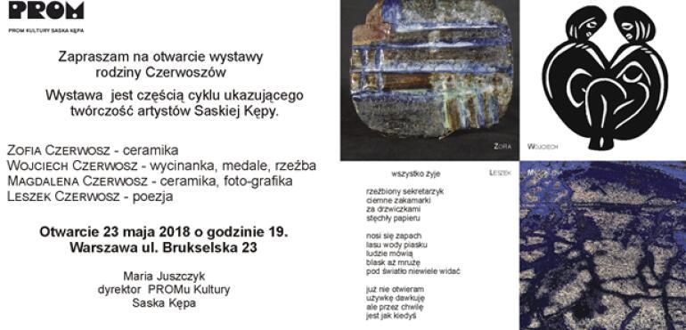 Twórczość artystów Saskiej Kępy w PROMie