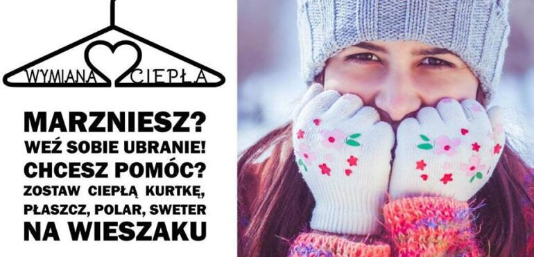 Wymień się ciepłem! Specjalny wieszak na ciepłe ubrania stanął na Pradze-Południe