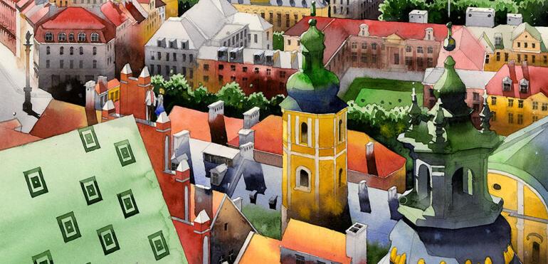 Odsłonięcie muralu i wystawa prac Tytusa Brzozowskiego