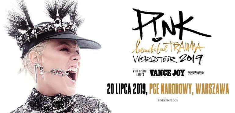 Koncert Pink na PGE Narodowym