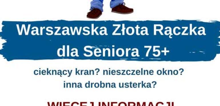 Warszawska Złota Rączka pomoże Seniorom w domowych usterkach