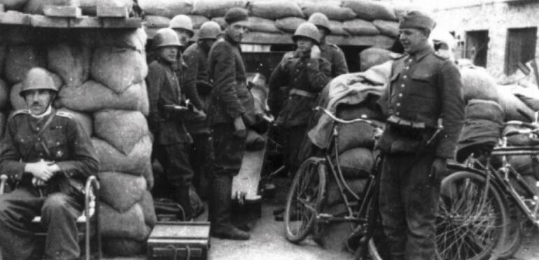 Saska Kępa w czasie II wojny światowej