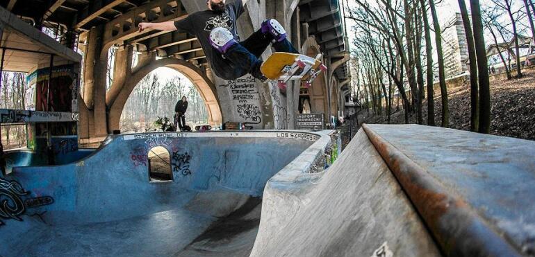 Skatepark pod mostem Poniatowskiego do rozbiórki