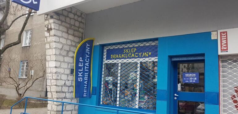 Nowy sklep rehabilitacyjny na Saskiej Kępie