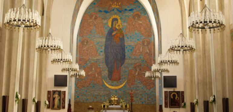 Wielkanoc w saskokępskich parafiach