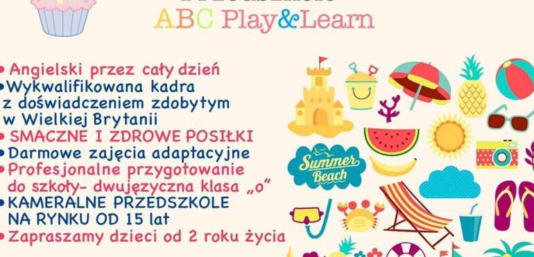 Przedszkole ABC Play & Learn - cały dzień z językiem angielskim