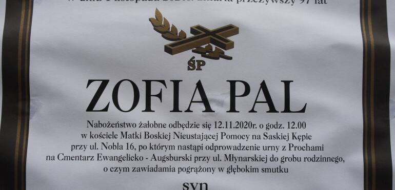Zmarła wybitna mieszkanka Saskiej Kępy