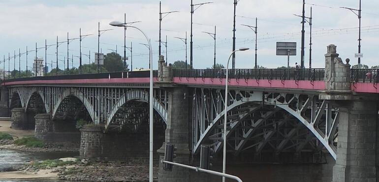 Zmiana planów dotycząca remontu Mostu Poniatowskiego