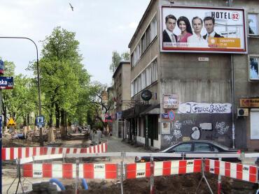Remont ulicy Francuskiej