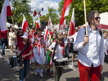 Święto Saskiej Kępy 2012 - Międzynarodowa na Francuskiej