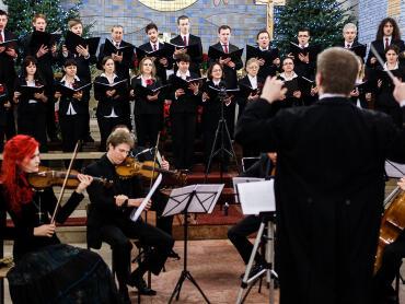 Noworoczny koncert kolęd w wykonaniu chóru Cantus Nobilis
