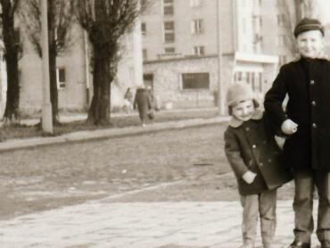 Saska Kępa kiedyś - lata 60/70
